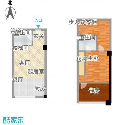 橙仕空间56.00㎡新房号12-1519面积5600m户型