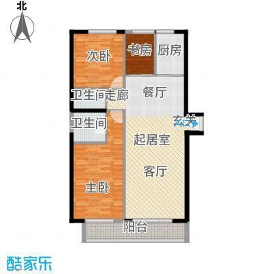 颐和宫140.15㎡面积14015m户型
