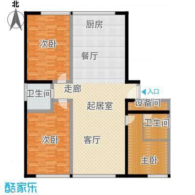 颐和宫143.00㎡面积14300m户型