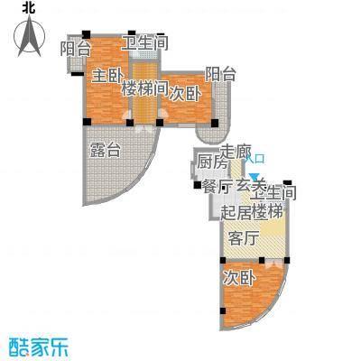 秋涛阁193.13㎡尊仕型面积19313m户型