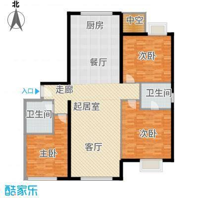颐和宫146.00㎡面积14600m户型