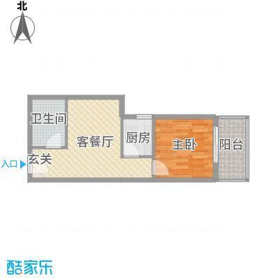 名流水晶宫51.77㎡面积5177m户型