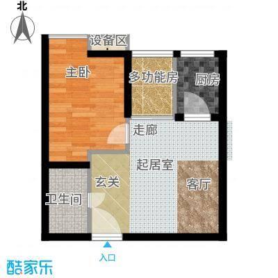 温莎公寓52.00㎡C面积5200m户型
