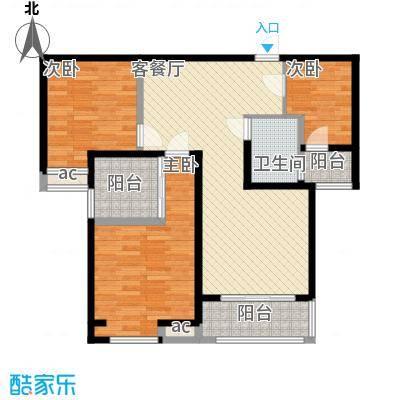 唐园新苑96.00㎡面积9600m户型