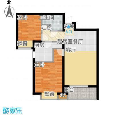 群贤庄93.00㎡面积9300m户型