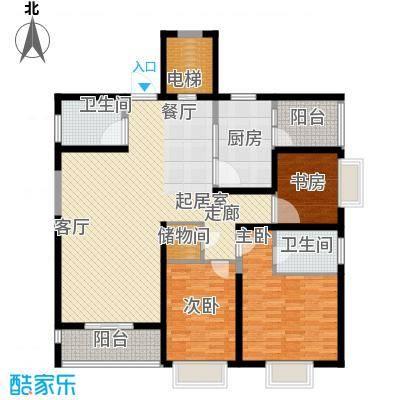 数码家园139.93㎡面积13993m户型