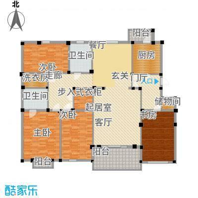 群贤庄199.00㎡面积19900m户型