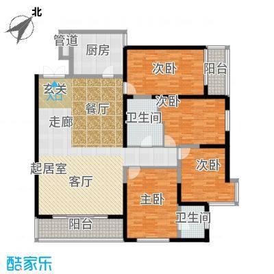 兴庆熙园170.00㎡面积17000m户型