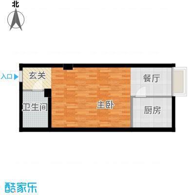 车城温泉花园85.43㎡2#楼标准层面积8543m户型