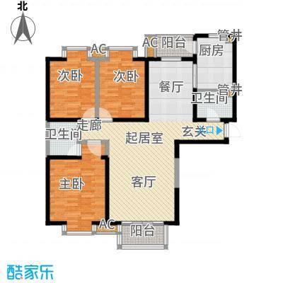 金康雅苑135.00㎡面积13500m户型