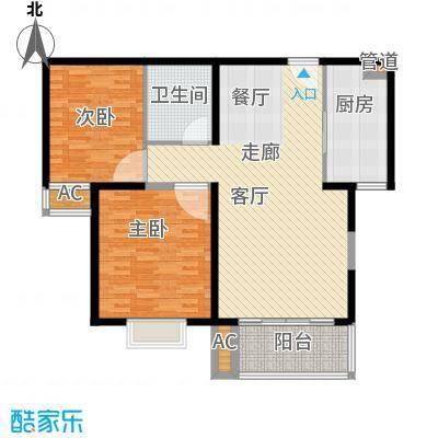 银河科技公寓110.00㎡面积11000m户型