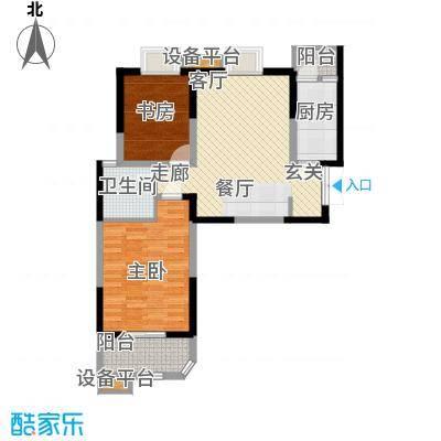 华鑫学府城90.90㎡K面积9090m户型
