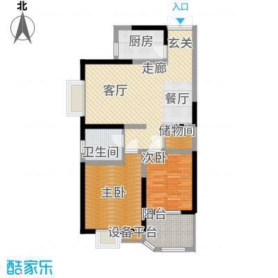 华鑫学府城91.40㎡G面积9140m户型