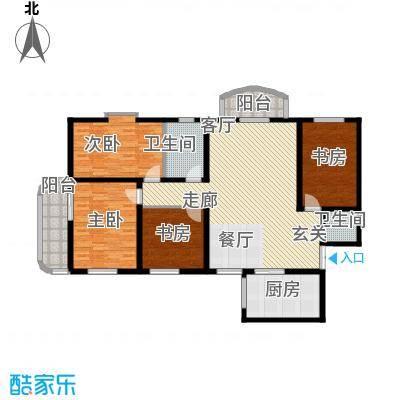 明德雅园大厦149.19㎡A、F痤面积14919m户型