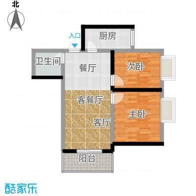 南小巷家属院65.00㎡面积6500m户型