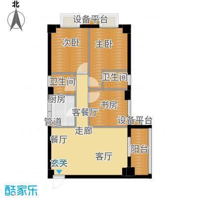 徐家湾小区95.00㎡面积9500m户型
