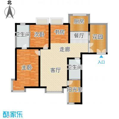 心桥佳苑135.00㎡标准层3面积13500m户型