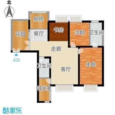 心桥佳苑132.00㎡标准层3面积13200m户型