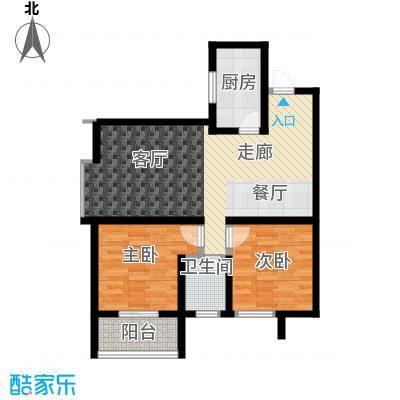 旭景兴园92.53㎡1#楼1单元5号房面积9253m户型