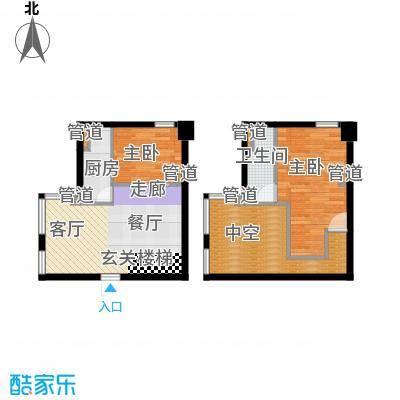 中城国际心岛公寓中诚国户型