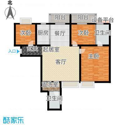 雅苑东方139.90㎡3、4号楼A1面积13990m户型