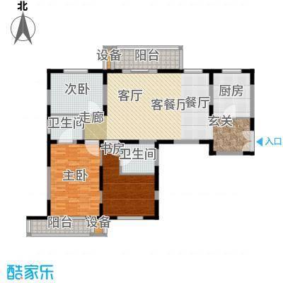 新兴IN之家142.36㎡C面积14236m户型