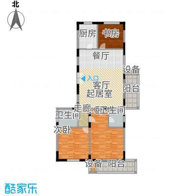 新兴IN之家148.25㎡D面积14825m户型