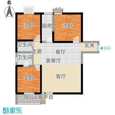 宝枫佳苑141.16㎡E3面积14116m户型