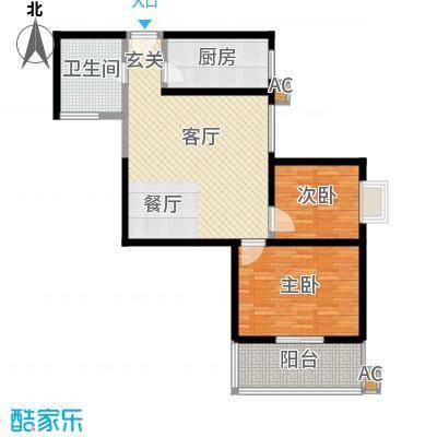 宝枫佳苑105.72㎡C6面积10572m户型