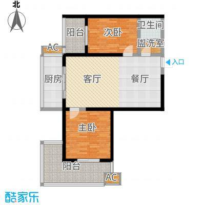宝枫佳苑111.96㎡C4面积11196m户型