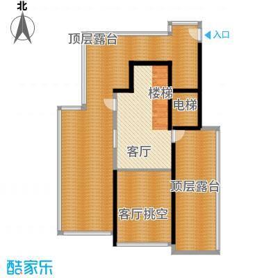 腾业南院131.00㎡洋房A1上层面积13100m户型