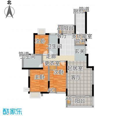 曲江荣禾曲池坊147.00㎡面积14700m户型
