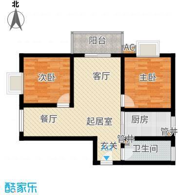 东开元小区92.00㎡1面积9200m户型