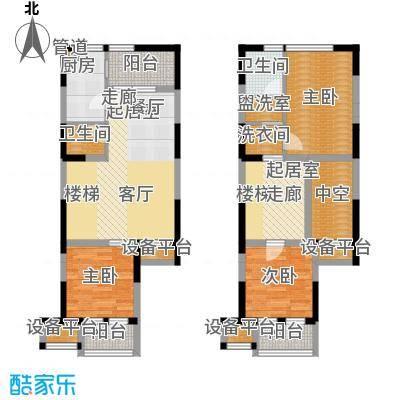 荣禾城市理想116.00㎡D1-1面积11600m户型