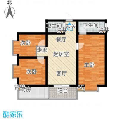 东开元小区112.00㎡1面积11200m户型