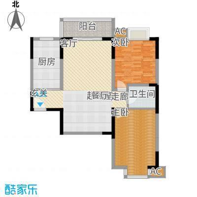 汇鑫花园101.44㎡1单元4#2室面积10144m户型