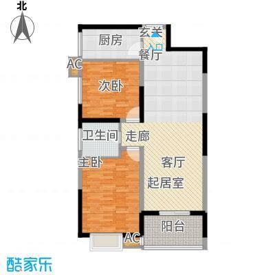 汇鑫花园102.65㎡2单元102#2室2面积10265m户型