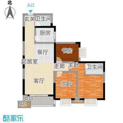 曲江春晓苑136.00㎡面积13600m户型