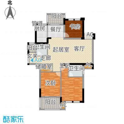 曲江春晓苑144.00㎡面积14400m户型
