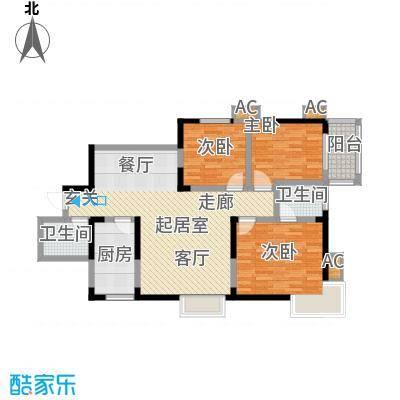 曲江春晓苑120.00㎡面积12000m户型