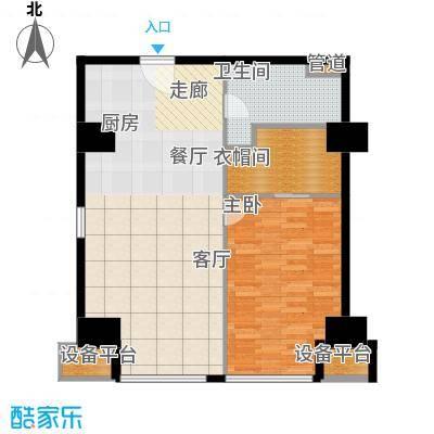 海星未来城89.05㎡1号楼8面积8905m户型