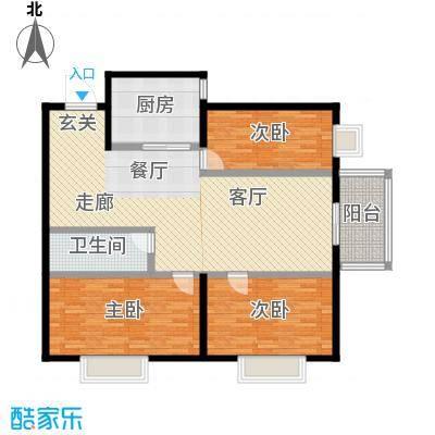 凤锦苑121.71㎡3面积12171m户型