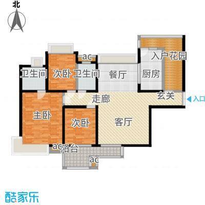 中海华庭144.17㎡面积14417m户型