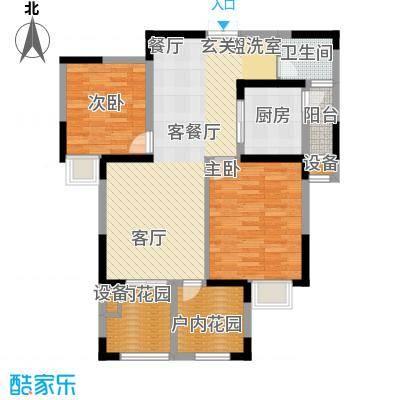 翡丽城96.31㎡2#2单元10楼2号3面积9631m户型
