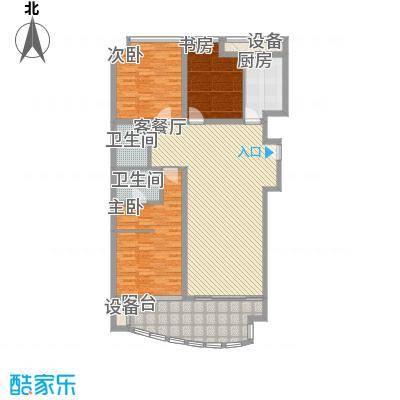 西港雅苑170.94㎡D面积17094m户型