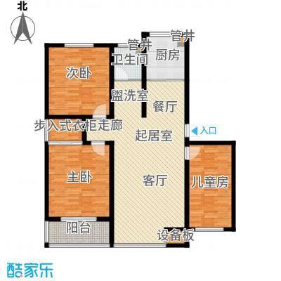 鑫宇小区123.00㎡面积12300m户型