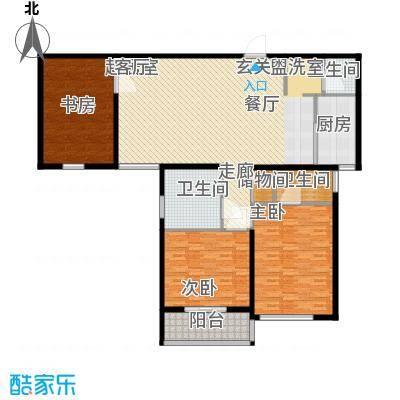 学林雅苑168.84㎡面积16884m户型