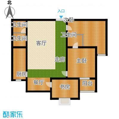 丽苑146.72㎡C面积14672m户型