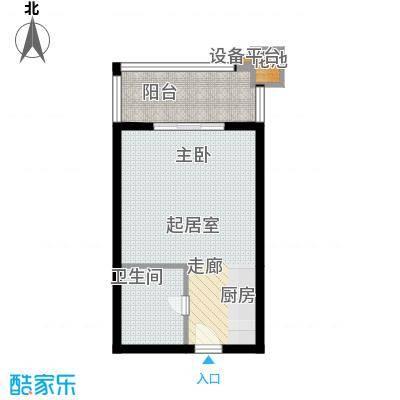 金源都市公寓40.00㎡面积4000m户型