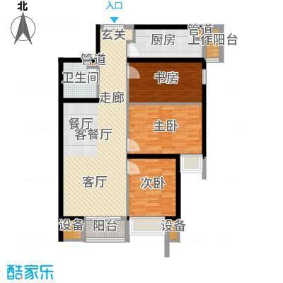 中城大厦203.00㎡面积20300m户型